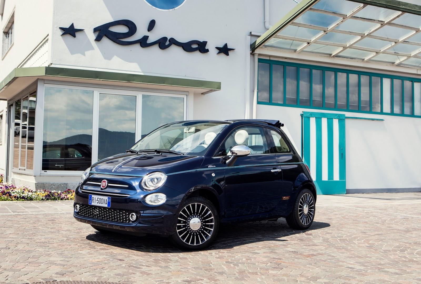 160627 Fiat 500 Riva 07 Fiat 500 Riva : Το κομψό έγινε και πολυτελές Fiat, Fiat 500, Fiat 500 Riva, Fiat 500C, Riva, supermini, videos