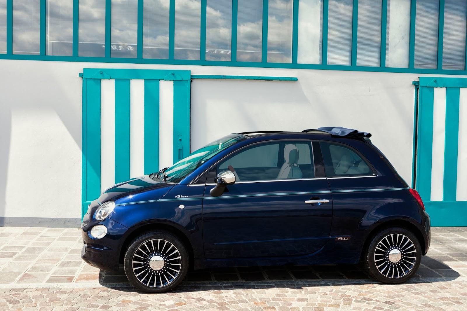 160627 Fiat 500 Riva 09 Fiat 500 Riva : Το κομψό έγινε και πολυτελές Fiat, Fiat 500, Fiat 500 Riva, Fiat 500C, Riva, supermini, videos
