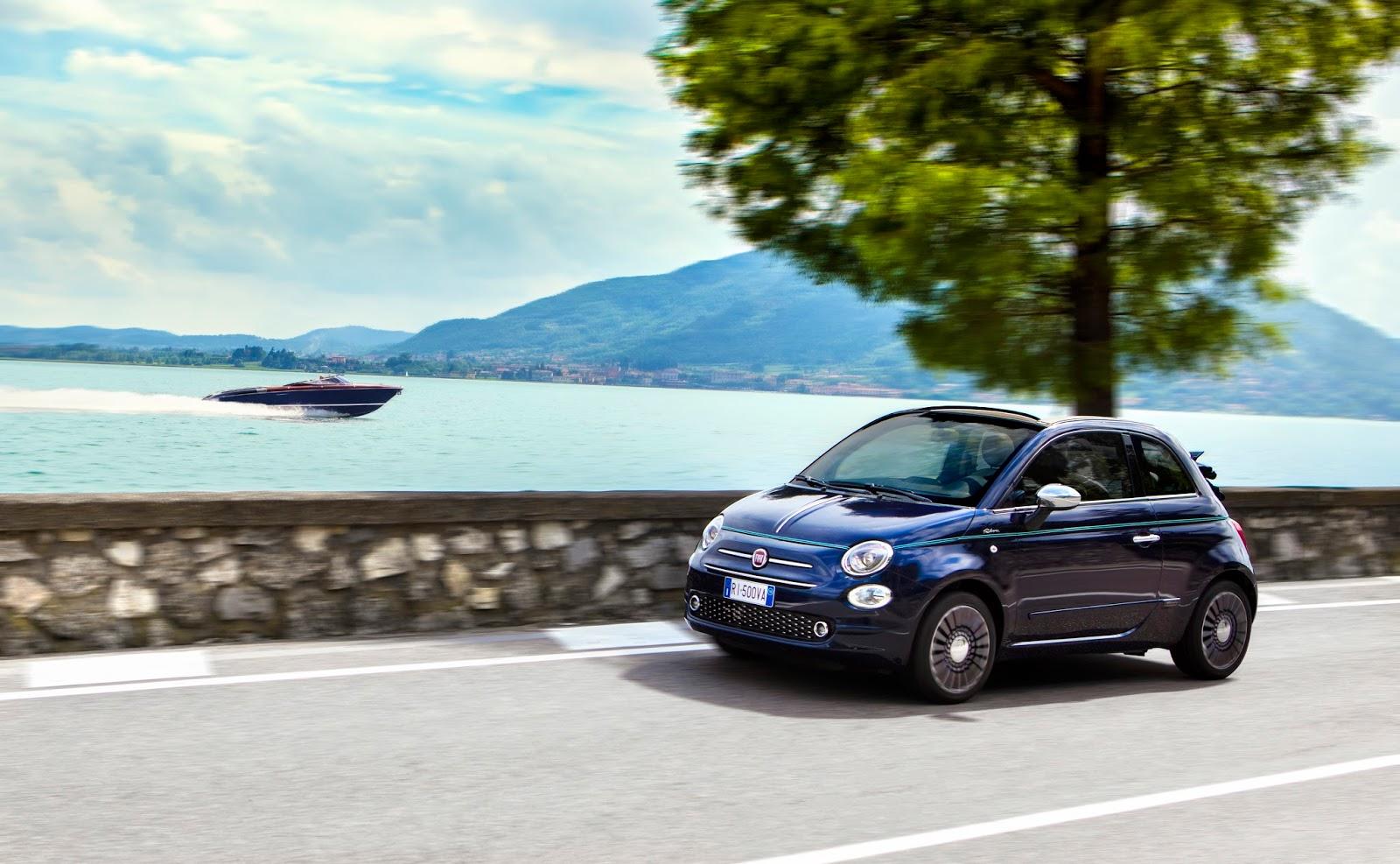 160627 Fiat 500 Riva 10 Fiat 500 Riva : Το κομψό έγινε και πολυτελές Fiat, Fiat 500, Fiat 500 Riva, Fiat 500C, Riva, supermini, videos