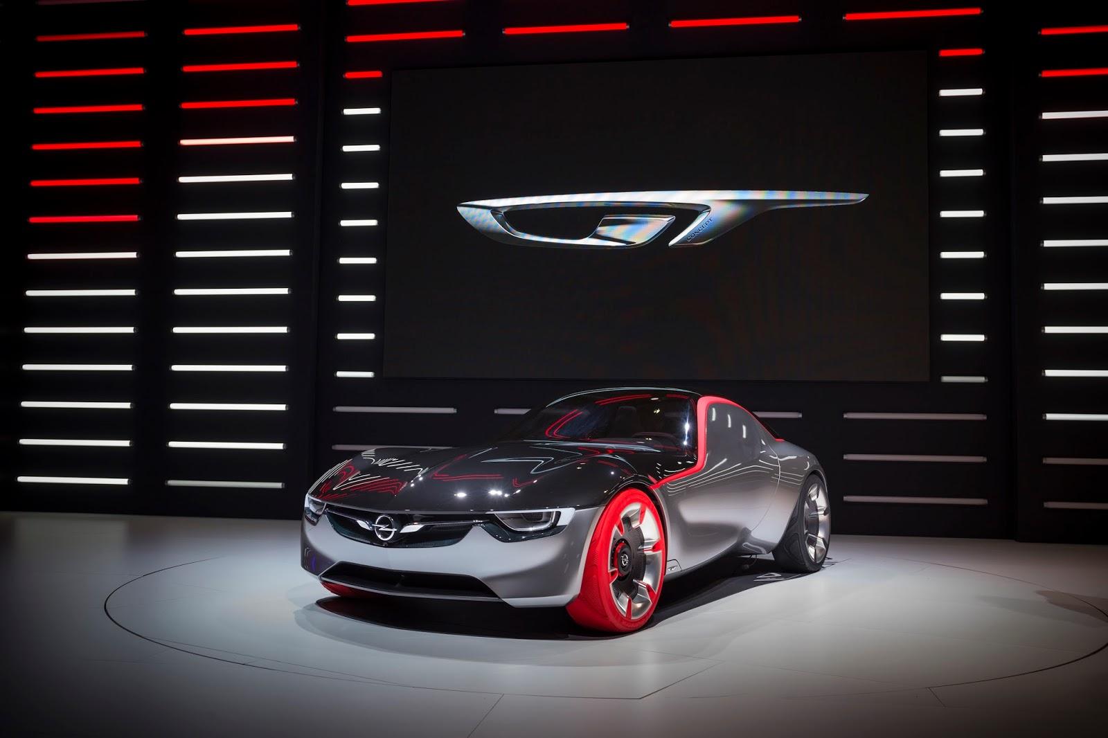 Geneva Opel GT Concept 298799 Το Opel GT concept βραβεύτηκε ως το καλύτερο πρωτότυπο αυτοκίνητο του 2016 Awards, Opel, Opel GT, Opel GT Concept