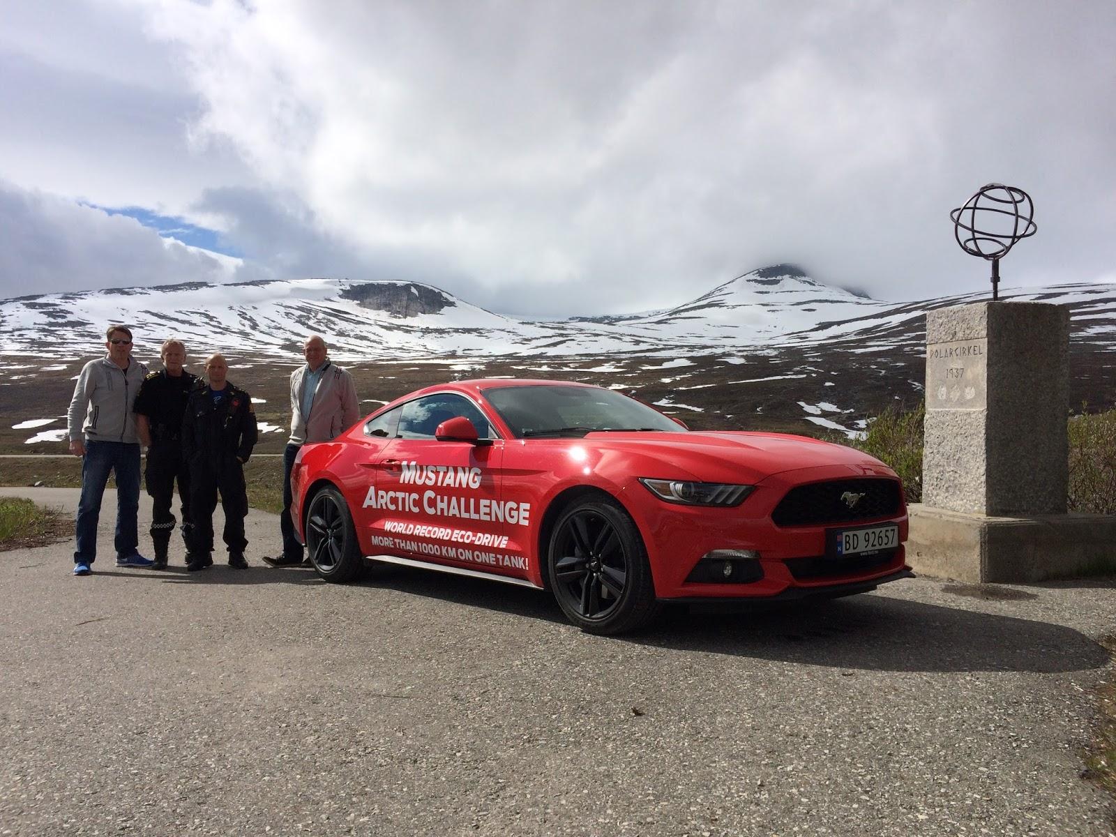 IMG 33632B252822529 Σούπερ εγκρατής οδηγός μιας Mustang, έκανε 1250 χιλιόμετρα με ένα ρεζερβουάρ! Ford, Ford Mustang, Ρεκόρ