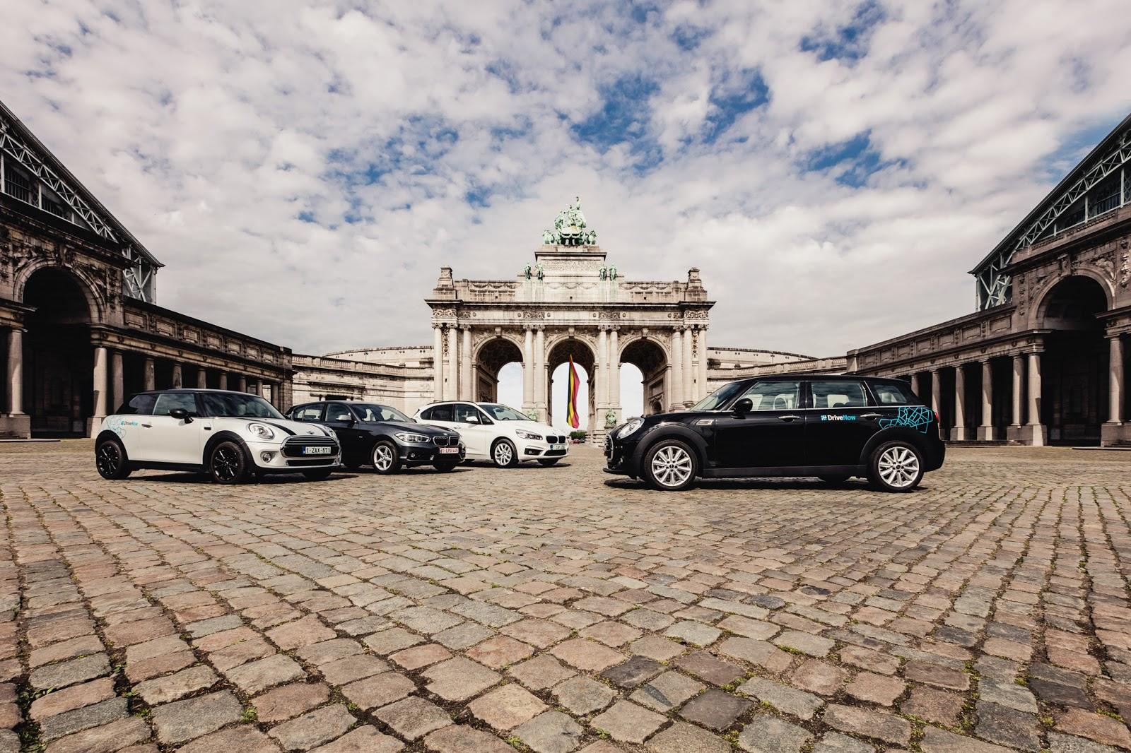 P90225909 highRes drivenow carsharing Οι Βρυξέλες γίνονται η 10η πόλη του προγράμματος κοινοχρησίας οχημάτων BMW, car sharing, Mini