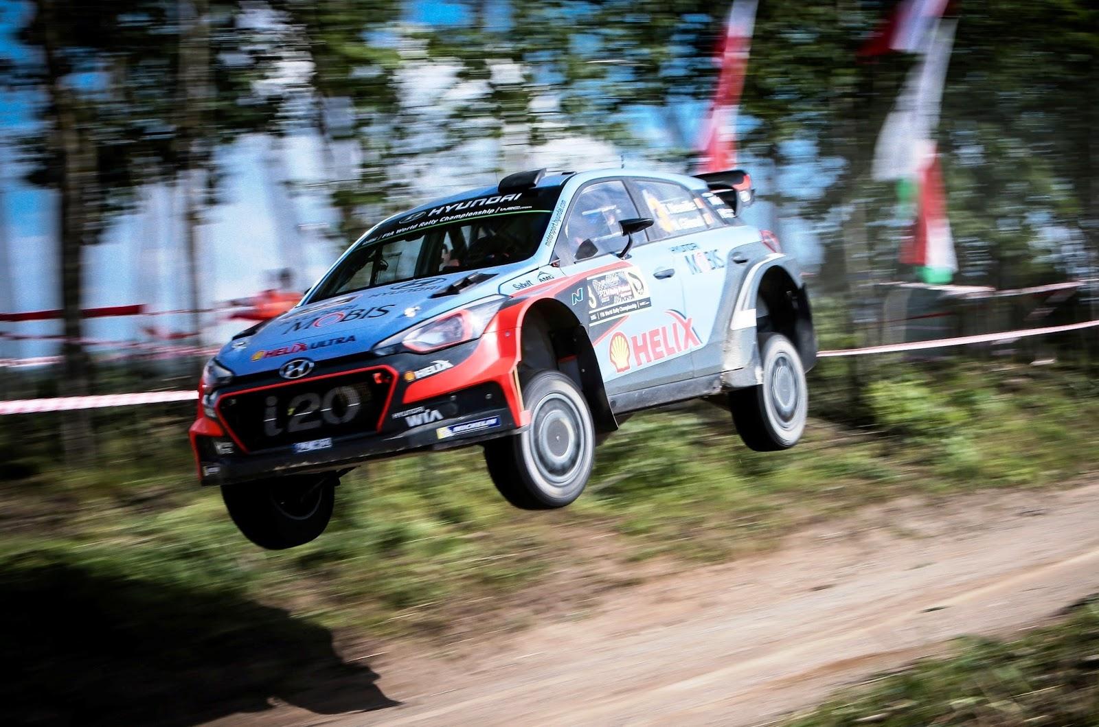 Rally Poland iii Η Hyundai ξανά στο βάθρο με το i20 WRC! Hyundai, Hyundai i20, Hyundai i20 WRC, WRC