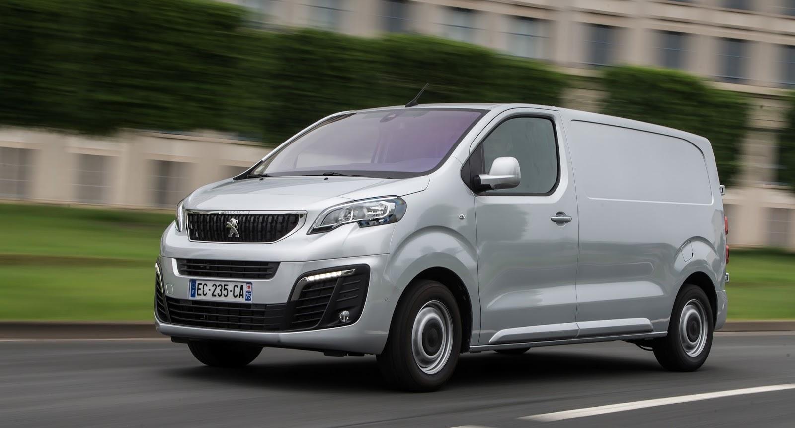 Το νέο PEUGEOT Expert εισάγει νέες καινοτομίες στην επαγγελματική κατηγορία! Peugeot, Peugeot Expert, VAN, Επαγγελματικά