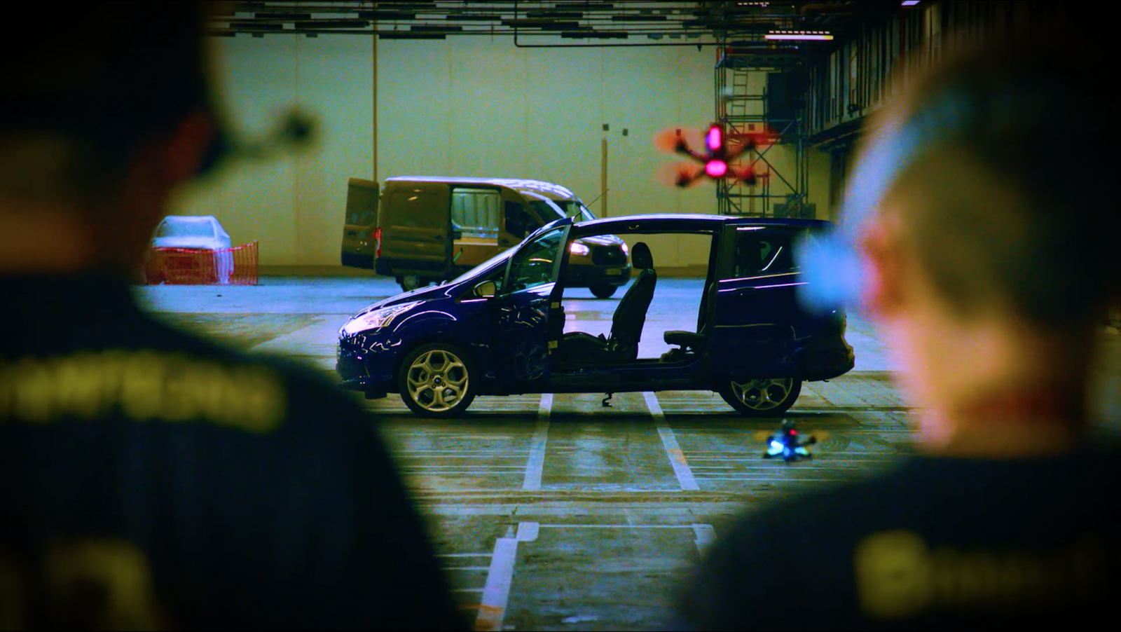 FordDronekhana screenshots 10 Το Gymkhana των Drones drift, Drone, Dronekhana, Ford, Ford Focus, Ford Focus RS, Ford Mustang, Ford Mustang GT, Fun, videos