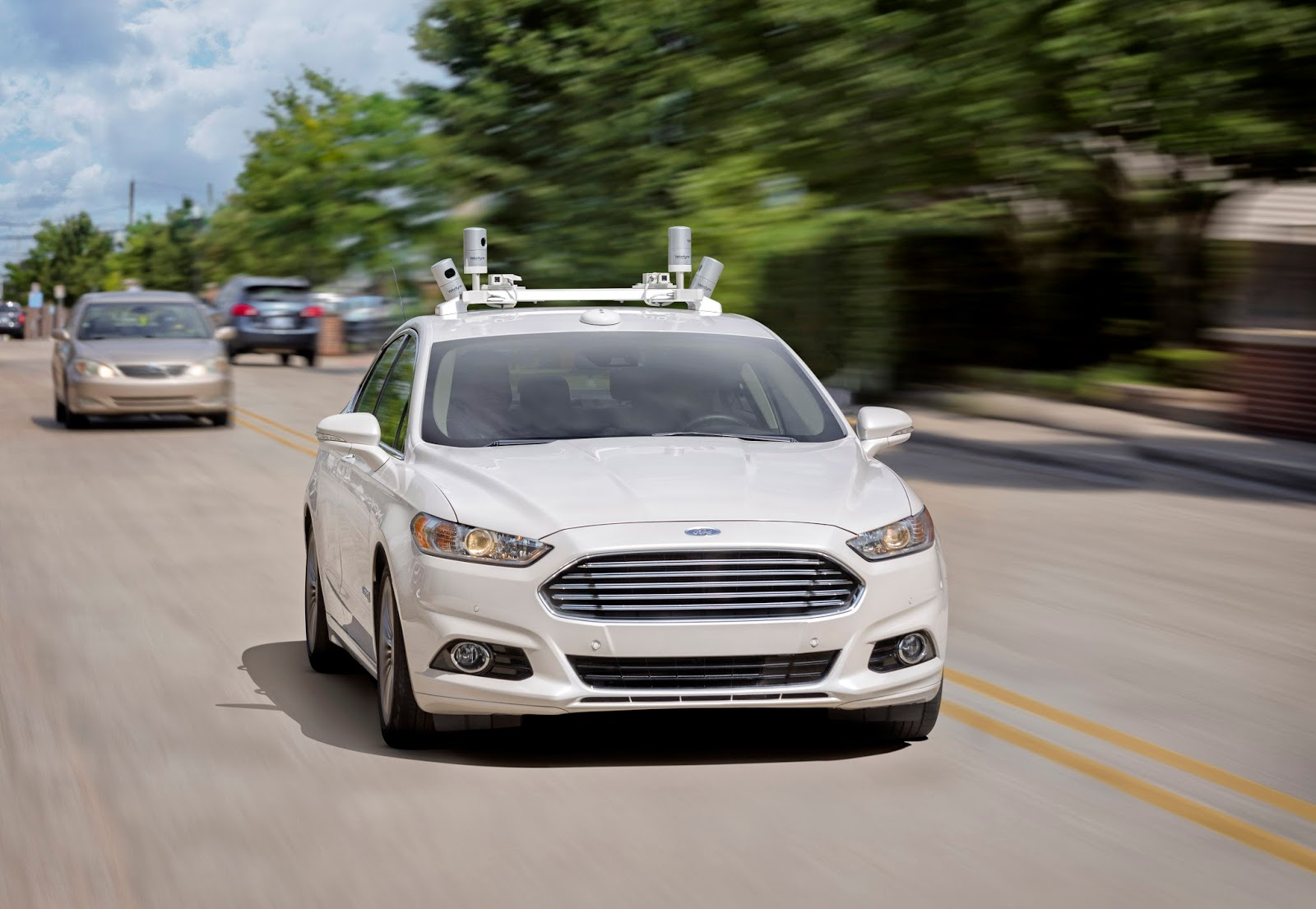 Ford Fusion AV 02 HR 1 Η Ford στοχεύει να βγάλει σε μαζική παραγωγή ένα πλήρως αυτόνομο όχημα το 2021 Autonomous Driving, Ford, videos, Τεχνολογία