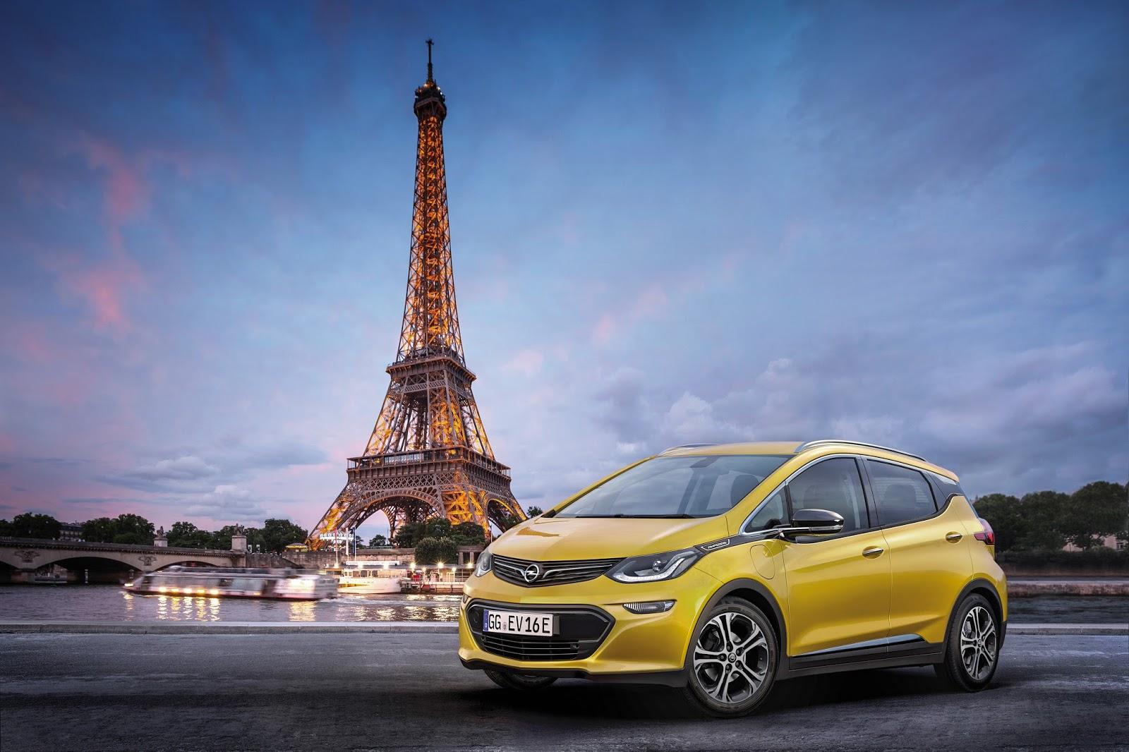 Opel Ampera e Paris 302756 To Opel Ampera-e σε ηλεκτρίζει με την φοβερή επιτάχυνση του