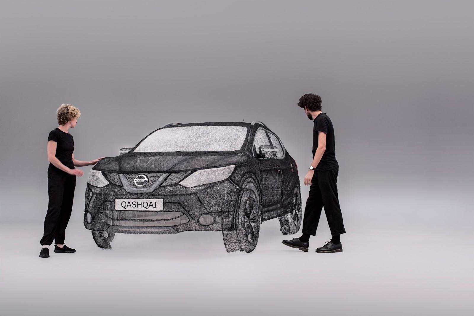 149160 1 5 Η Nissan κατασκεύασε την μεγαλύτερη τρισδιάστατη εκτύπωση στον κόσμο σε… QASHQAI ! Fun, Nissan, Nissan Qashqai, videos, Τεχνολογία