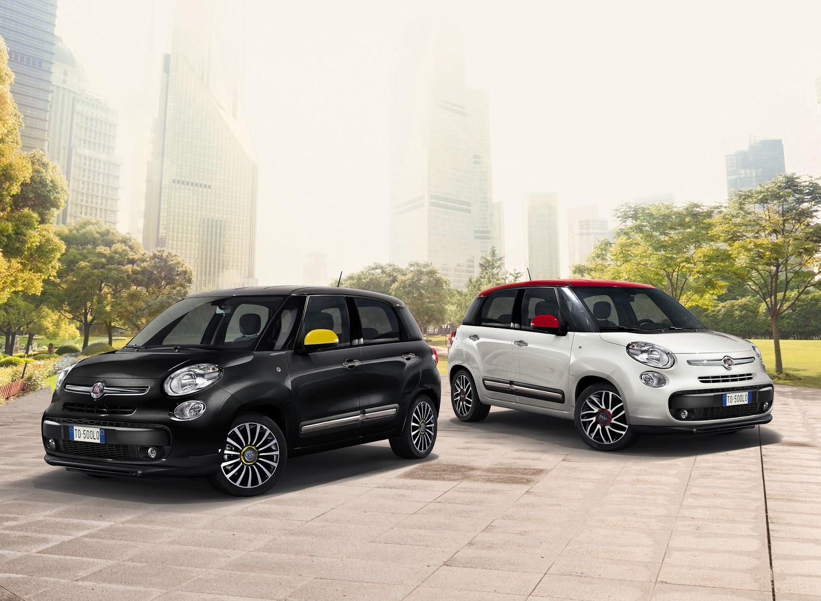150918 Fiat 500L 01 Η Fiat με όλα τα μέλη της οικογένειας της, στην έκθεση αυτοκινήτου 2016 στο Παρίσι autoshow, Fiat, fiat 124 spider, Fiat 500, Fiat 500 Riva, Fiat 500S, Fiat 500X