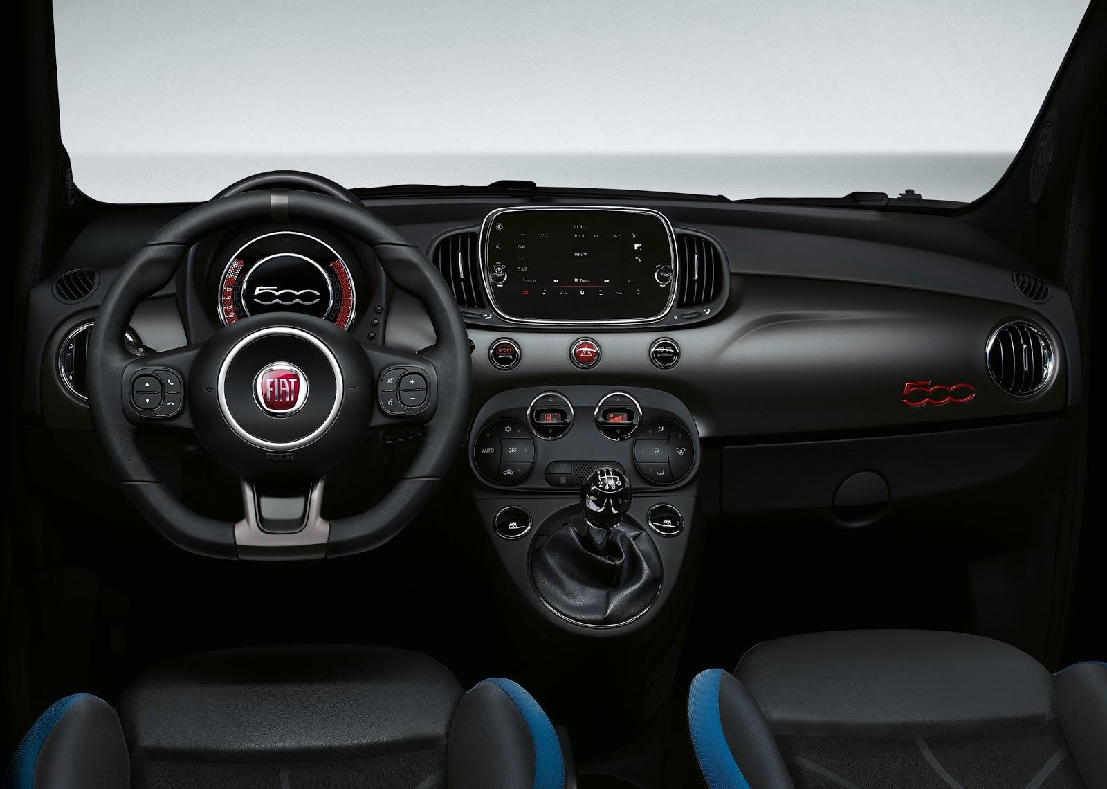 160301 Fiat 500s 06 Η Fiat με όλα τα μέλη της οικογένειας της, στην έκθεση αυτοκινήτου 2016 στο Παρίσι autoshow, Fiat, fiat 124 spider, Fiat 500, Fiat 500 Riva, Fiat 500S, Fiat 500X