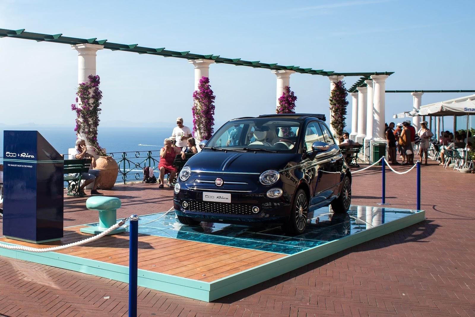 160705 Fiat 500 Capri 01 HP Η Fiat με όλα τα μέλη της οικογένειας της, στην έκθεση αυτοκινήτου 2016 στο Παρίσι autoshow, Fiat, fiat 124 spider, Fiat 500, Fiat 500 Riva, Fiat 500S, Fiat 500X