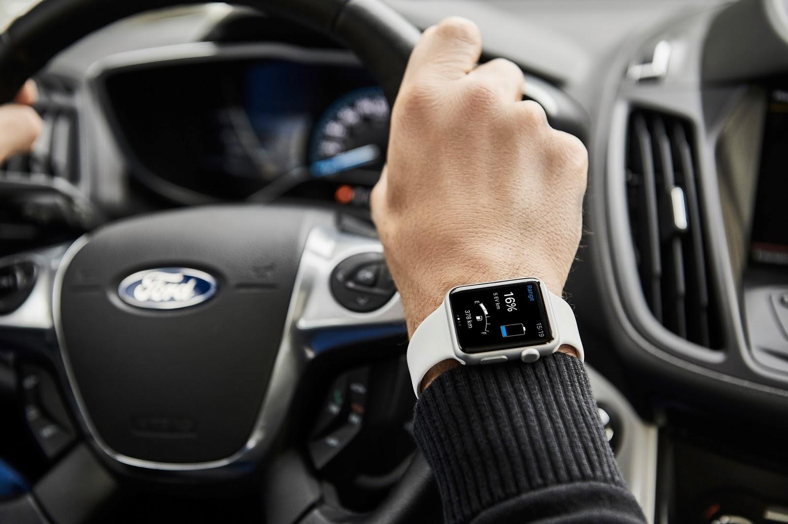 1 MyFordMobile charging Χρησιμοποιείστε το smartwatch σας για να τσεκάρετε το ηλεκτρικό σας αυτοκίνητο Ford Android Auto, Apple CarPlay, Electric cars, Ford, videos, Τεχνολογία