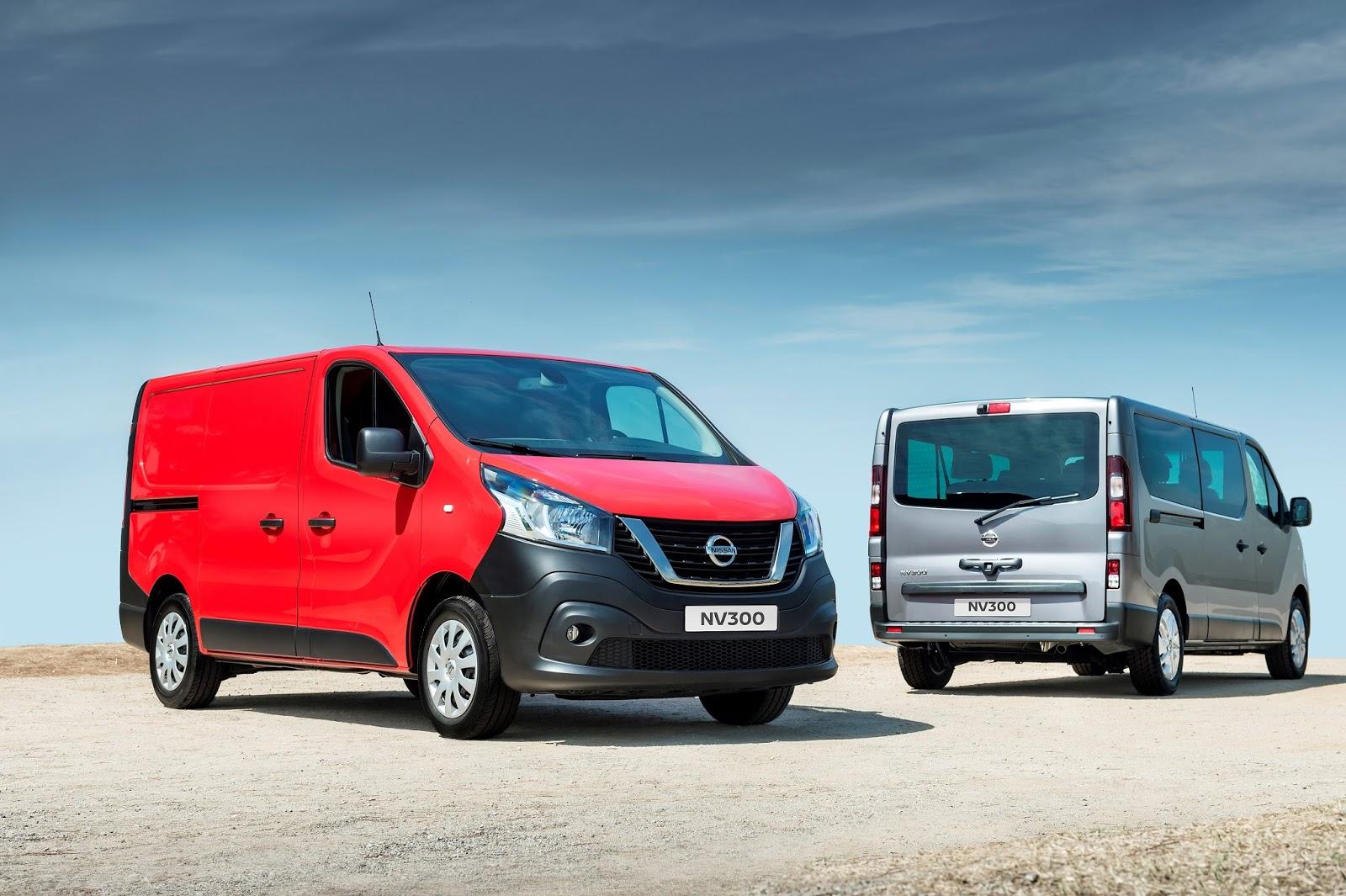 426150062 Nissan NV300 Van and Combi Παγκόσμιο ντεμπούτο για το νέο Nissan NV300