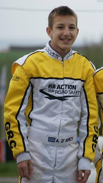 Column05 Ο 15χρονος Αλέξανδρος Ντάρσυ εκπροσώπησε φέτος την Ελλάδα στον παγκόσμιας εμβέλειας θεσμό CIK-FIA Academy Trophy CIK-FIA Karting Academy Trophy, karting, καρτ