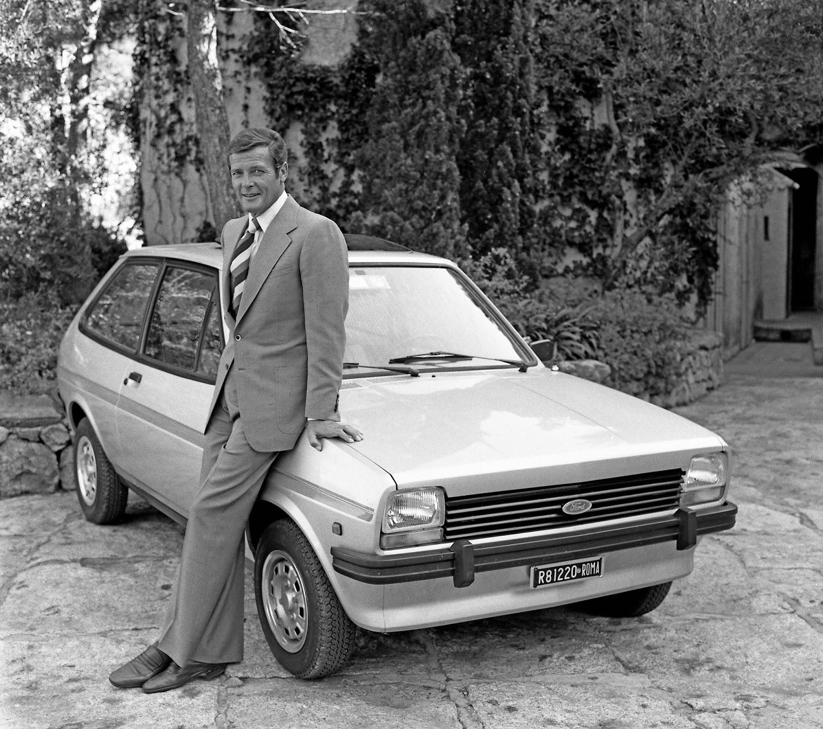 FordFiesta 1976 1983 007RogerMoore 1976 01 2 Έκανες Πολύ Δρόμο Μωρό μου! - Το Ford Fiesta Γίνεται 40 Ετών Ford, Ford Fiesta, Fun, videos, zblog