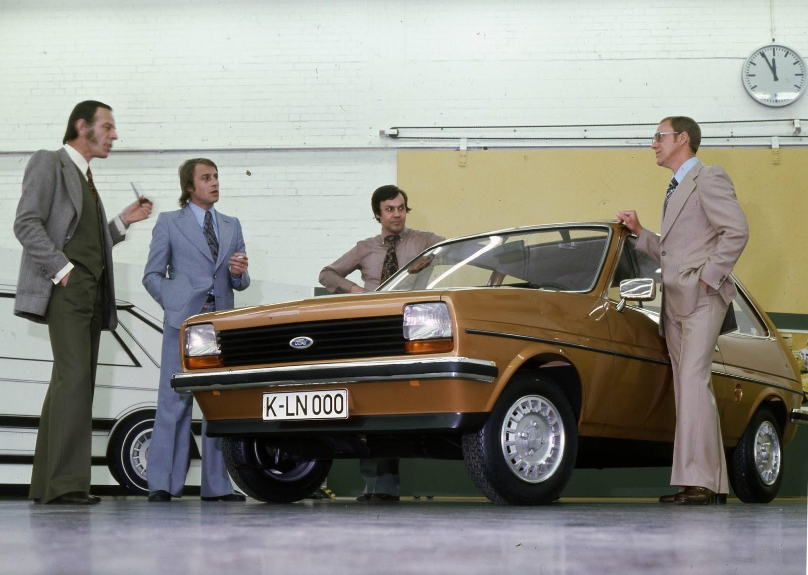 FordFiesta 1976 1983 DesignStudio UweBahnsen ClaudeLobo Merkenich 1976 01 2 Έκανες Πολύ Δρόμο Μωρό μου! - Το Ford Fiesta Γίνεται 40 Ετών Ford, Ford Fiesta, Fun, videos, zblog