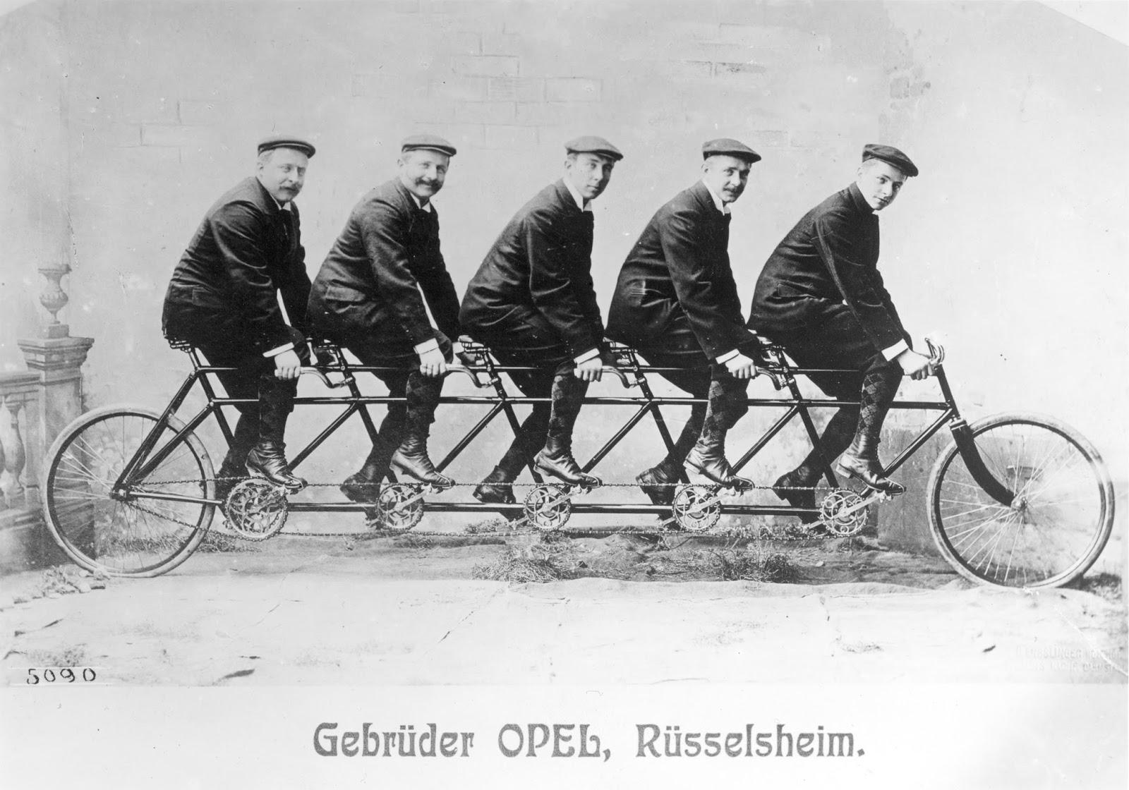 Opel 11311 Τα Ποδήλατα Opel Γιορτάζουν 130 Χρόνια Opel, ποδήλατα, ποδήλατο