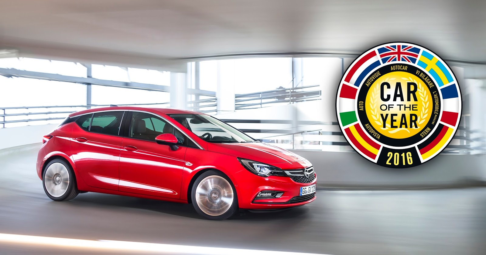 Opel Astra Car of the Year 2016 298789