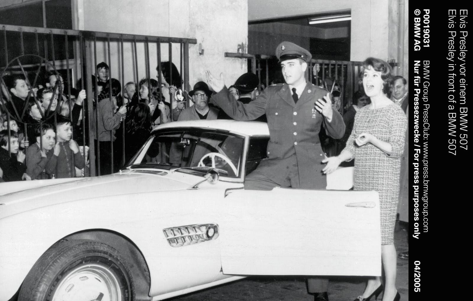 P0019031 1 Η επιστροφή της μυθικής BMW 507 του Elvis στο Concours d'Elegance, Pebble Beach autoshow, BMW, BMW 507, Classic, Concours d'Elegance, Roadster, zblog