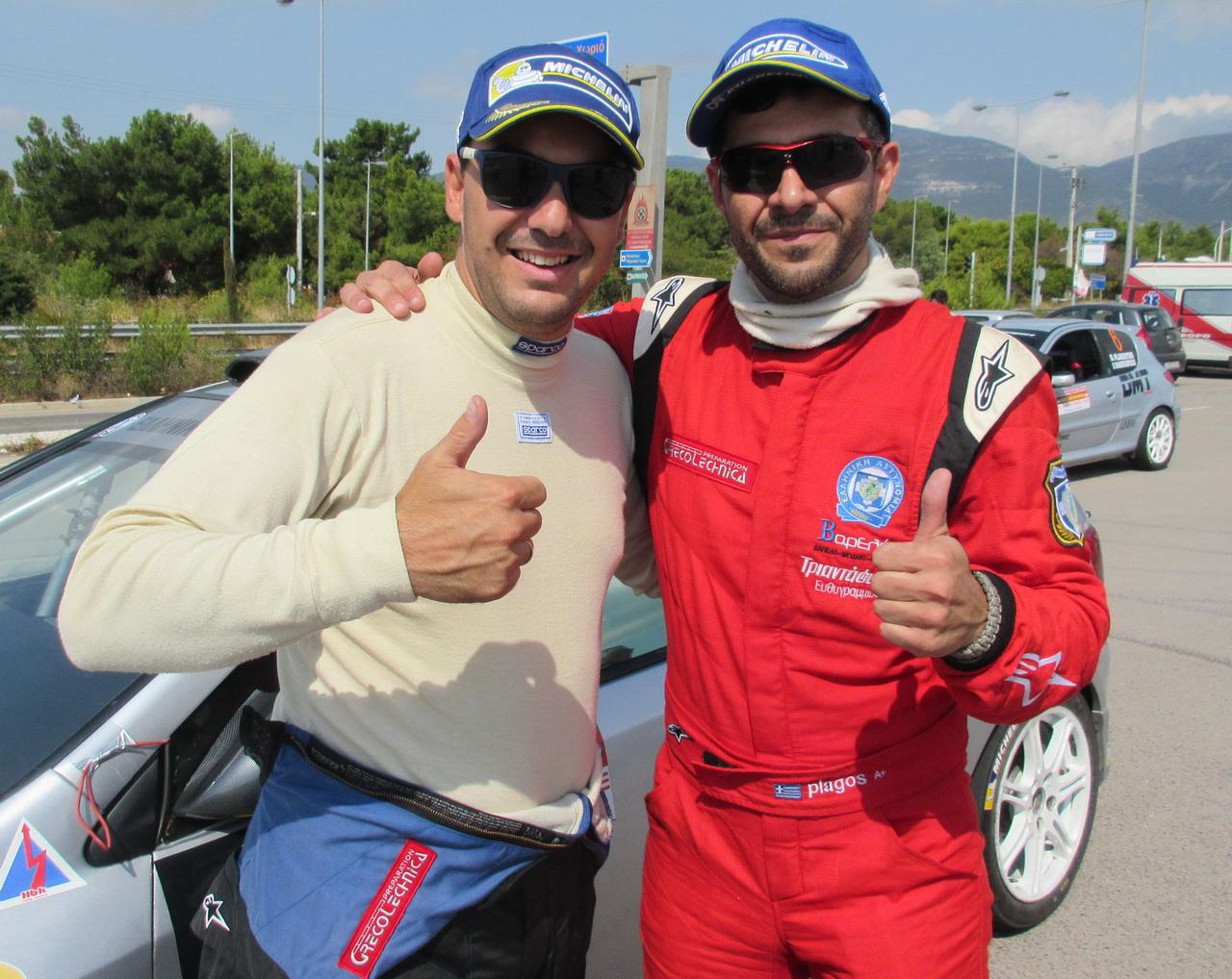 Rentis Plagos Ολοκληρώθηκε το 4ο Athens Rally Sprint με νικητή τον Πλάγο με Honda Civic Type-R