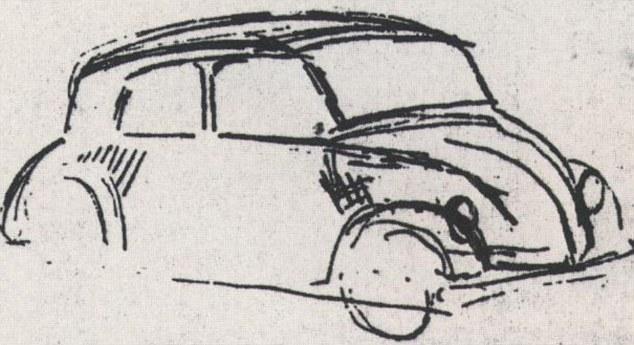 article 2086663 0F750A9800000578 Η μέρα που γεννήθηκε ο Porsche Classic, Porsche, VW Beetle, zblog, Προσωπικότητες