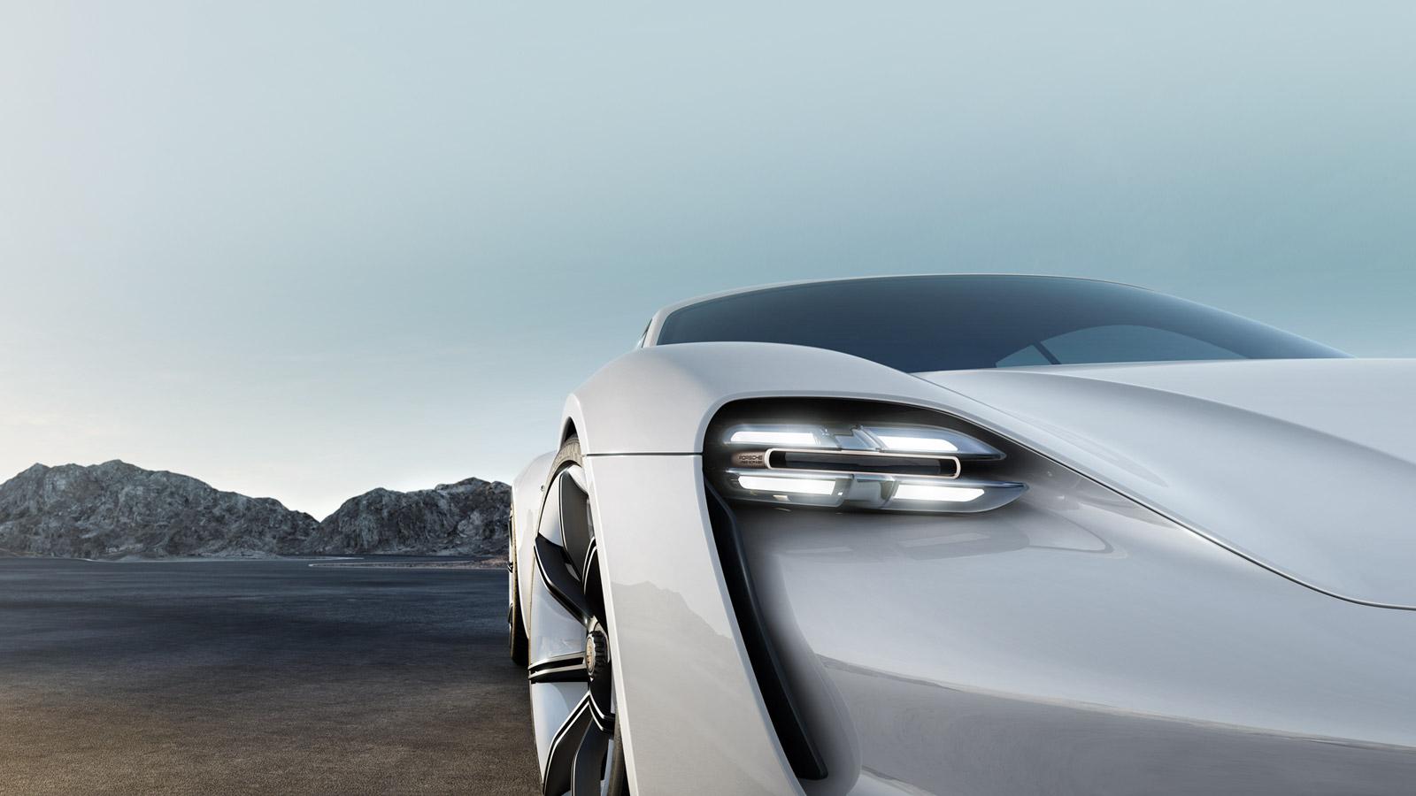 background Σε τρία χρόνια το πρώτο αποκλειστικά ηλεκτροκίνητο μοντέλο της Porsche
