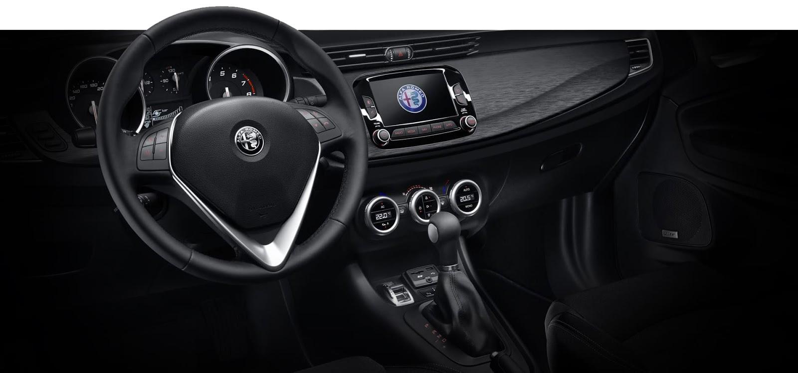 giulietta super interiors Νέα έκδοση Alfa Romeo Giulietta SUPER, με SUPER τιμή!