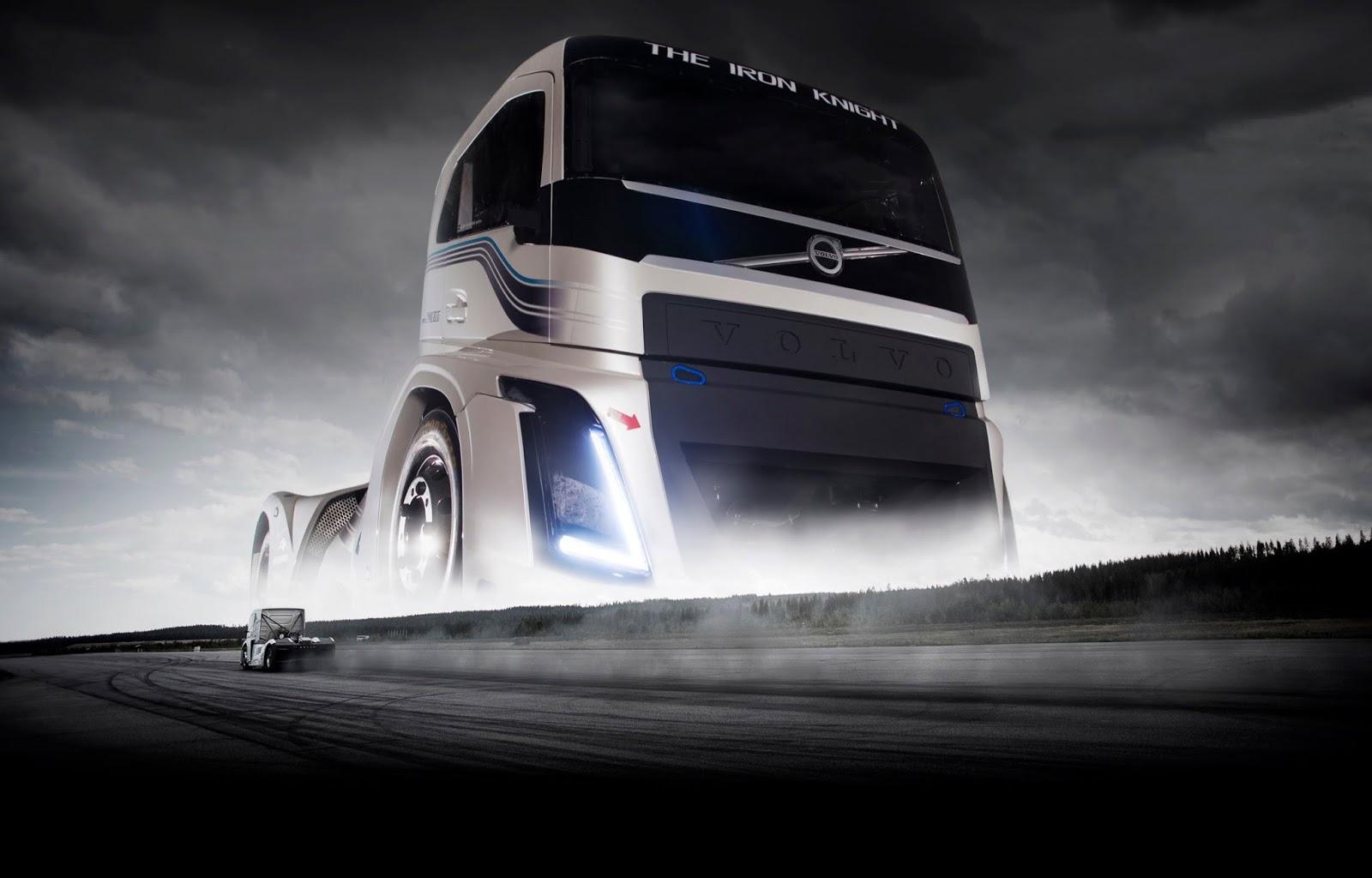 iron knigth Το Iron Knight της Volvo Trucks είναι το ταχύτερο φορτηγό του κόσμου Fun, Record, topspeed, Truck, videos, Volvo Iron Knight, Volvo Trucks, Επαγγελματικά, Φορτηγά