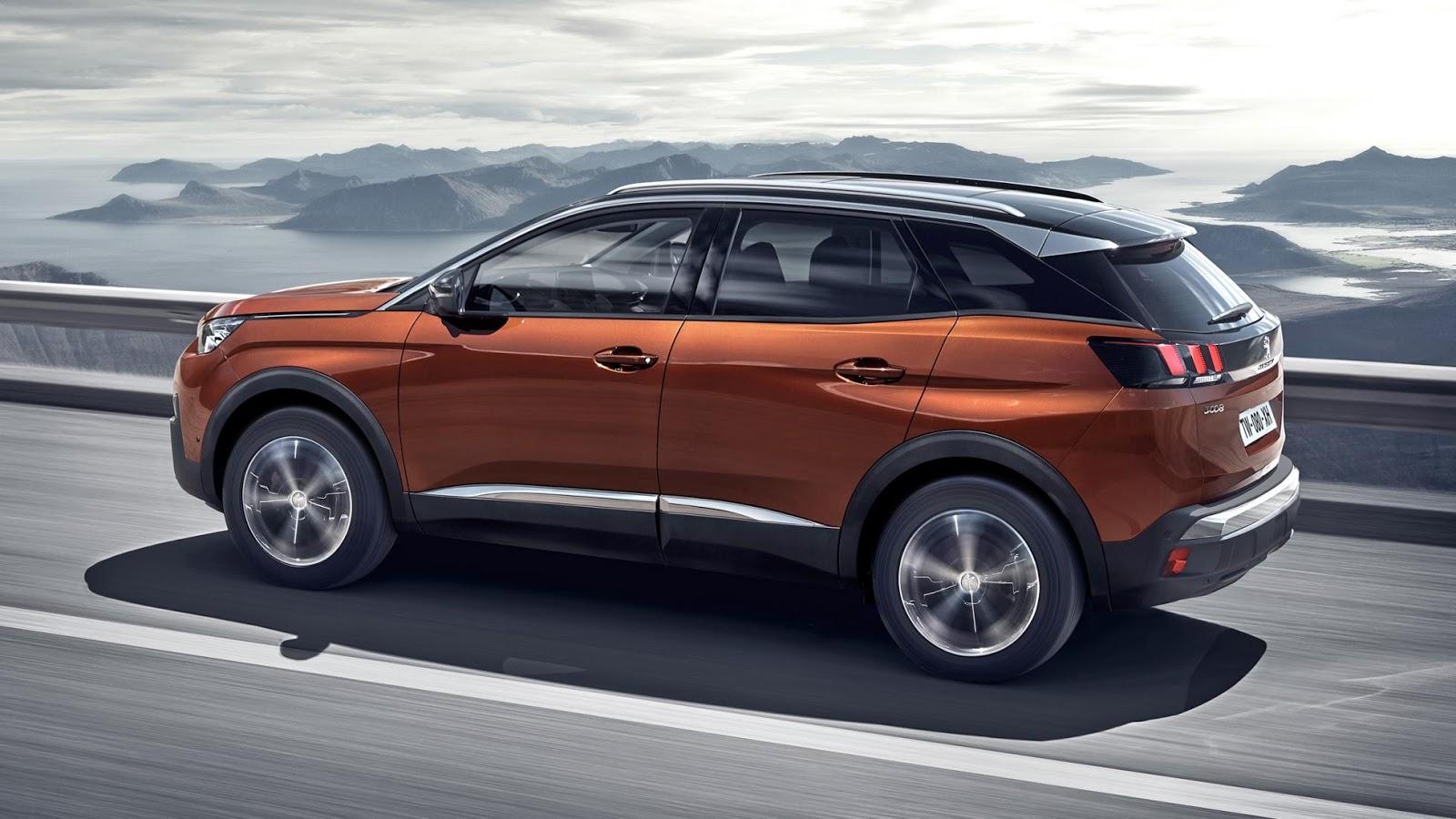 peugeot 3008 Φουλ επίθεση από την Peugeot με τρία νέα SUV! autoshow, PARIS MOTOR SHOW, Peugeot, SUV, videos