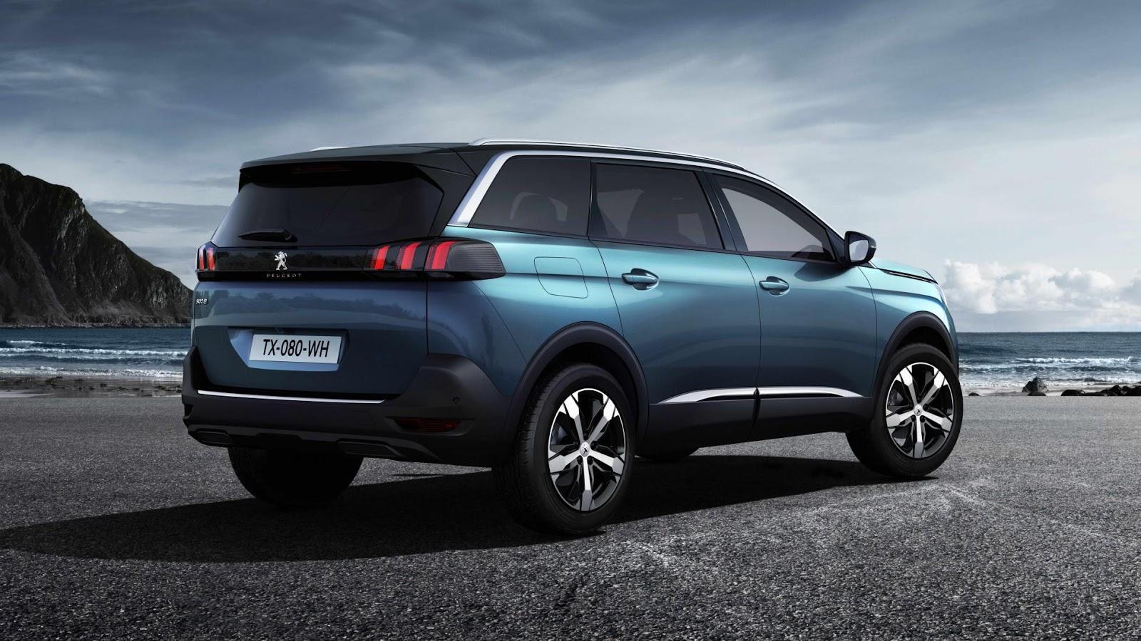 peugeot 5008 Φουλ επίθεση από την Peugeot με τρία νέα SUV! autoshow, PARIS MOTOR SHOW, Peugeot, SUV, videos