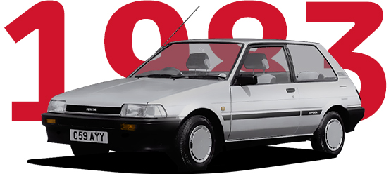 1983 Img 1 tcm 3030 773305 Το Toyota Corolla κλείνει τα 50 του χρόνια και αναπολούμε 11 απροβλημάτιστες γενιές Fun, Toyota, Toyota Corolla, videos, zblog