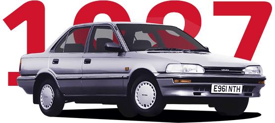 1987 Img 1 tcm 3030 773308 Το Toyota Corolla κλείνει τα 50 του χρόνια και αναπολούμε 11 απροβλημάτιστες γενιές Fun, Toyota, Toyota Corolla, videos, zblog