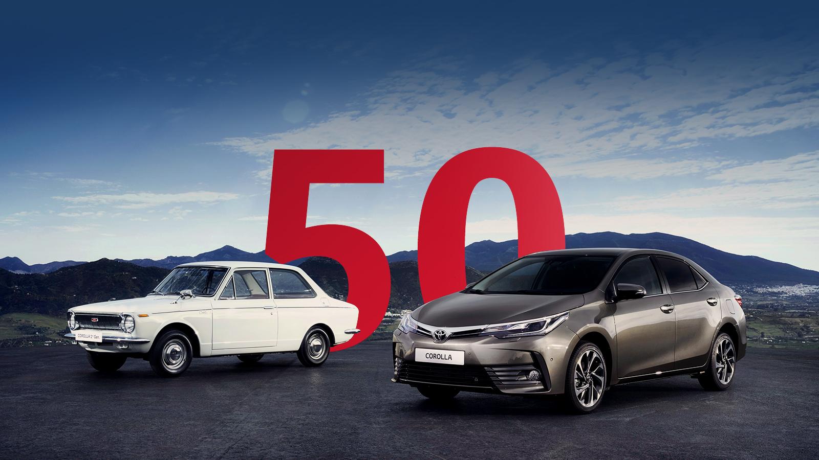 50 years toyota corolla Το Toyota Corolla κλείνει τα 50 του χρόνια και αναπολούμε 11 απροβλημάτιστες γενιές Fun, Toyota, Toyota Corolla, videos, zblog