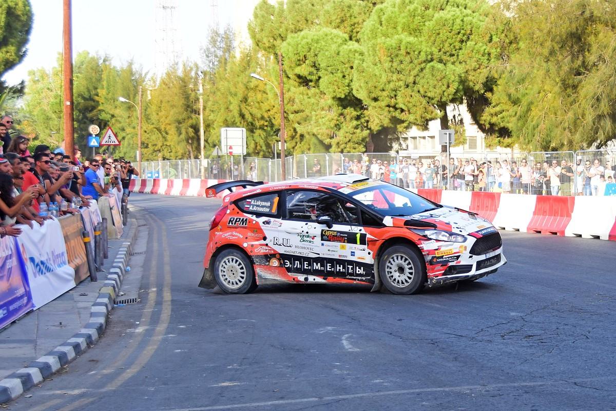 Σταθερά πρώτος ο Ρώσος Alexey Lukyanuk στο Ράλι Κύπρου Cyprus Rally, Rally