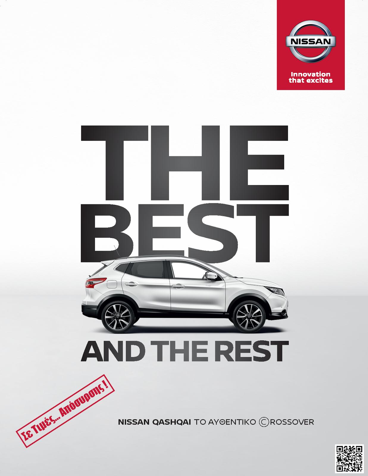QASHQAI2BAPOSIRSI 1 Το Nissan QASHQAI έως και 4.100 ευρώ φθηνότερα Nissan, Nissan Qashqai, αγορά, προσφορές