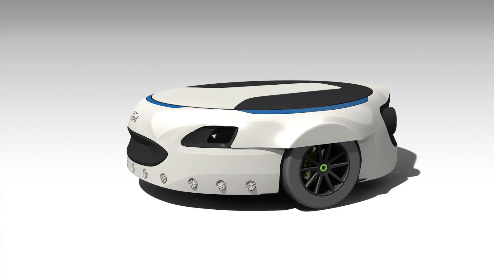 117 R6 Carr-E : Η ατομική πλατφόρμα μετακίνησης σε σχήμα και μέγεθος ρεζέρβας! Carr-E, Electric cars, Ford, videos, Τεχνολογία