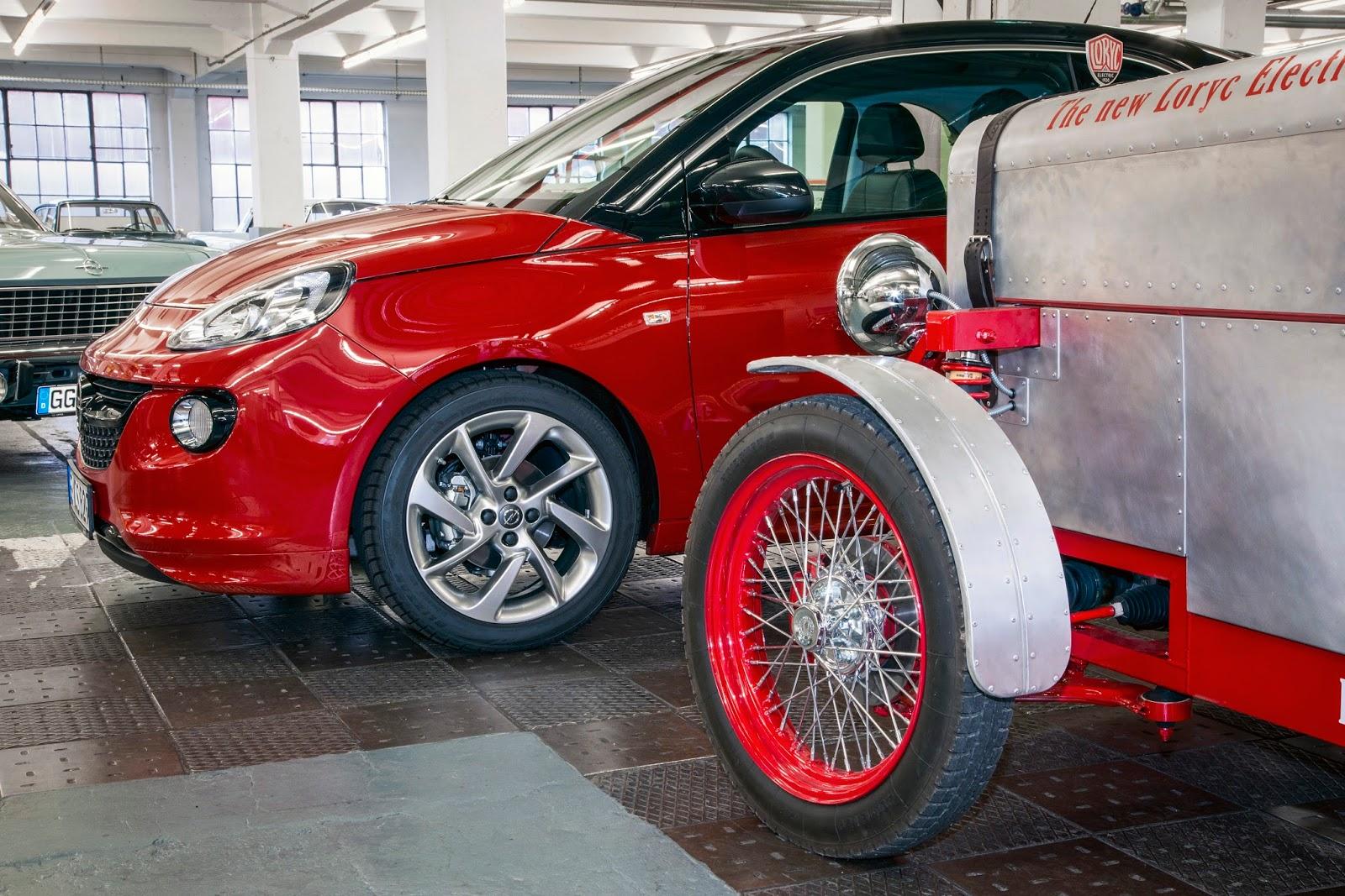 Opel 303788 Το Opel Adam δωρίζει τα εξαρτημάτα του και δίνει ζωή στο Loryc Electric Speedster Electric cars, Loryc, Opel, Opel ADAM