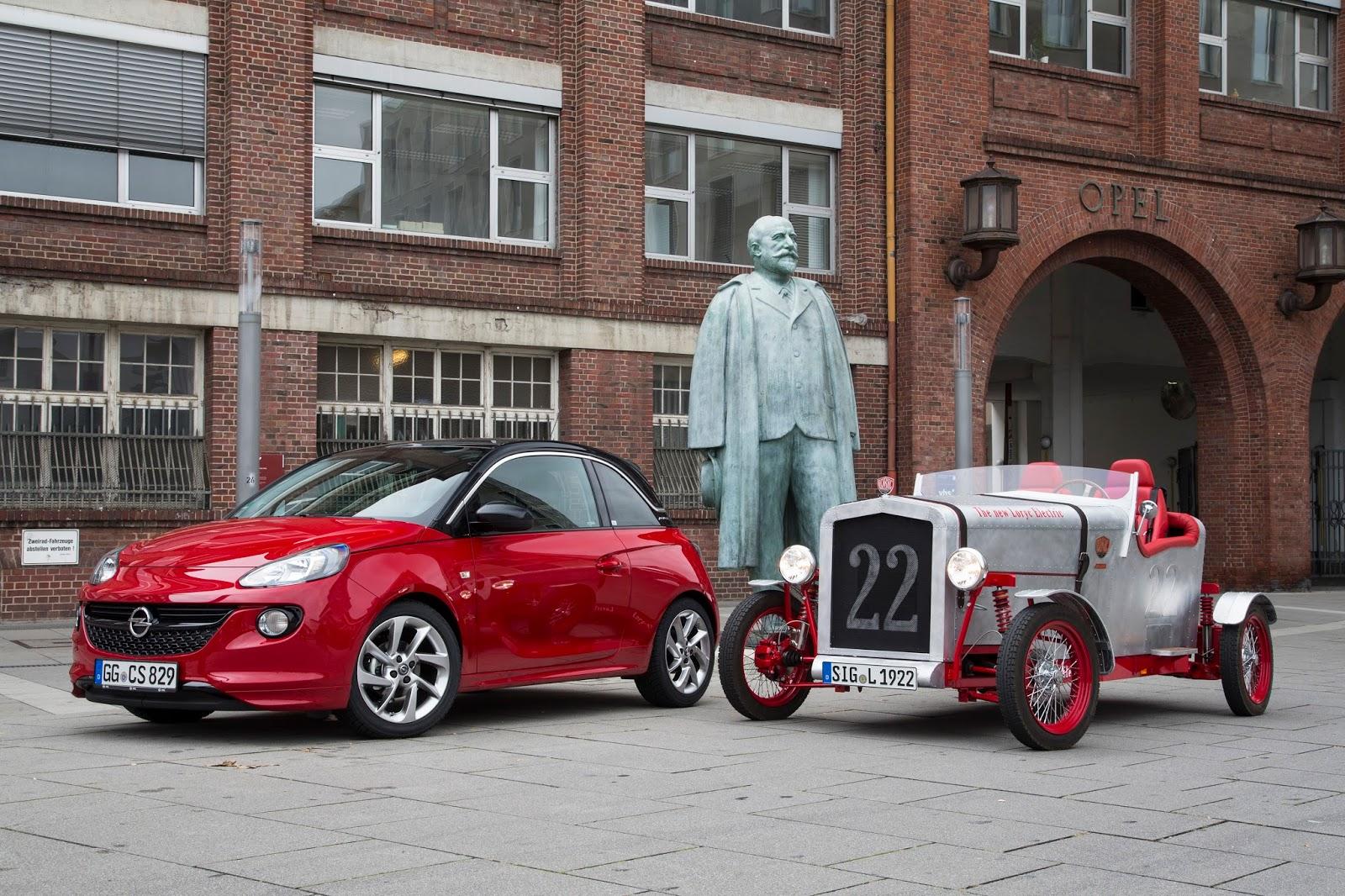 Opel 303789 Το Opel Adam δωρίζει τα εξαρτημάτα του και δίνει ζωή στο Loryc Electric Speedster