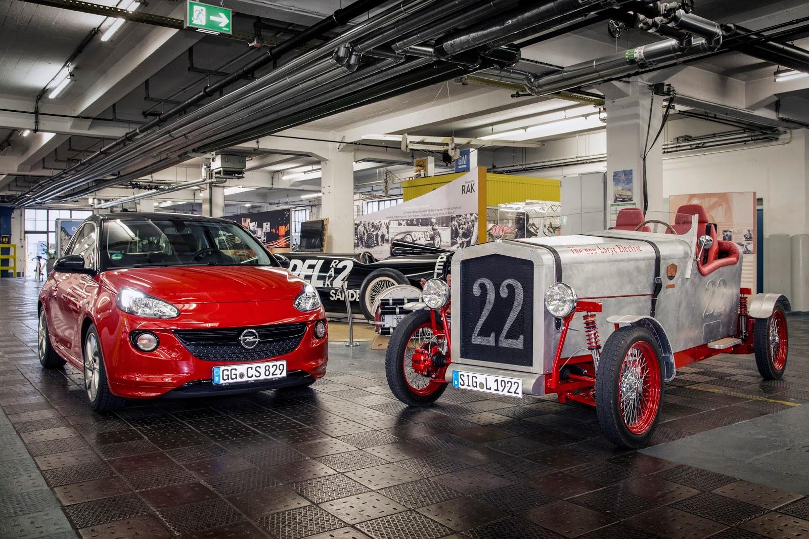 Opel 303794 Το Opel Adam δωρίζει τα εξαρτημάτα του και δίνει ζωή στο Loryc Electric Speedster Electric cars, Loryc, Opel, Opel ADAM