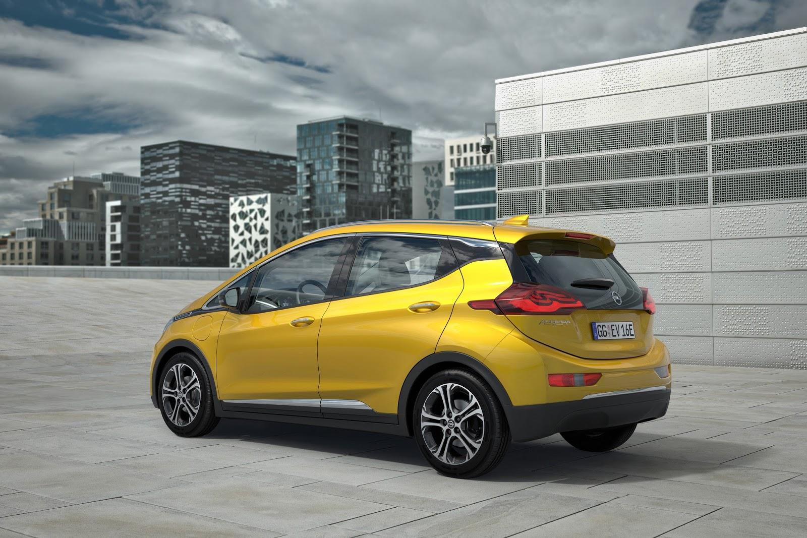 Opel Ampera e 303297 Το Opel Ampera-e διανύει μέχρι 150 km με μια φόρτιση 30 λεπτών Electric cars, Opel, Opel Ampera, Opel Ampera-e, Τεχνολογία