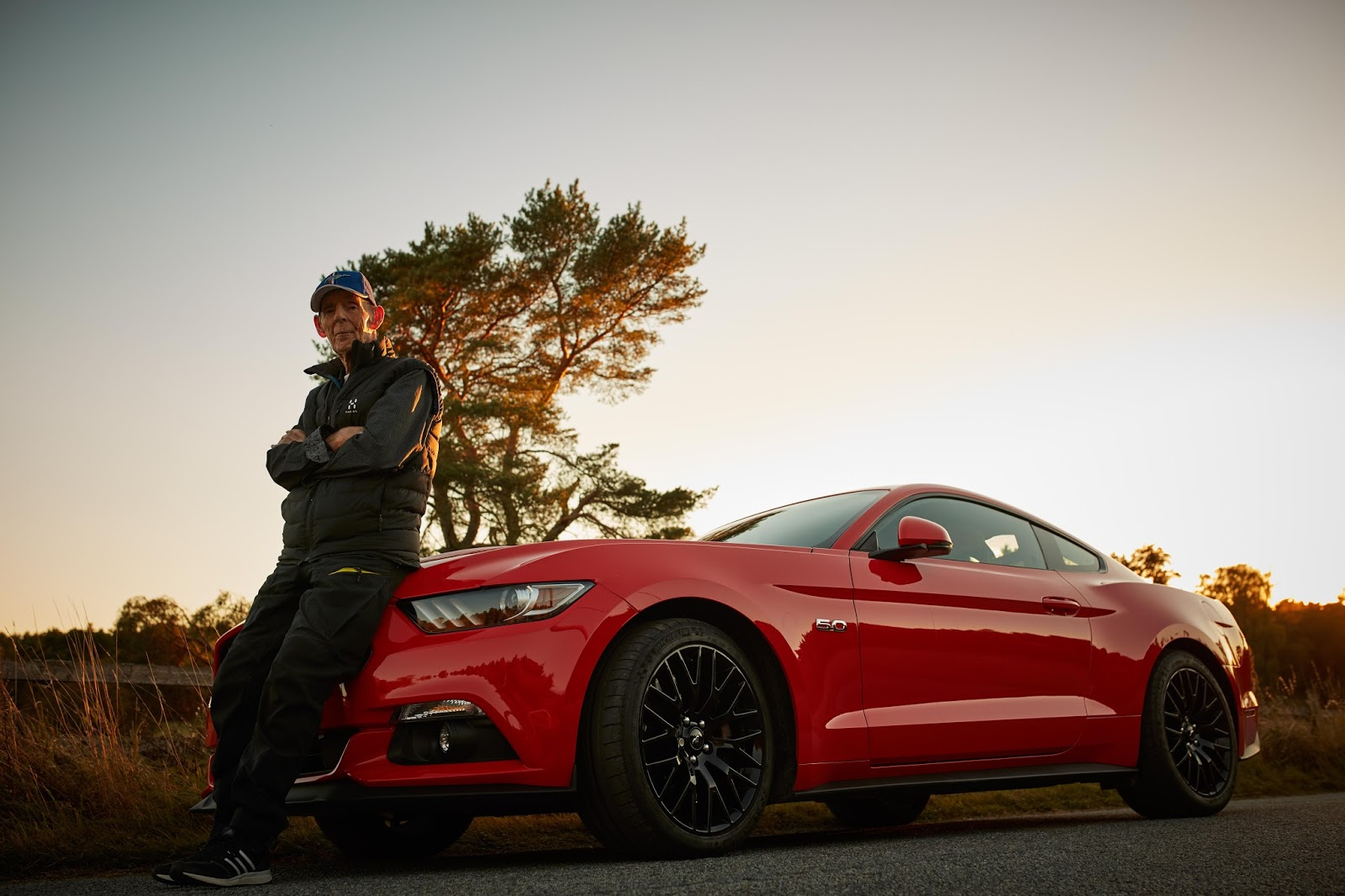 P3A3367 Ο 97χρονος που ερωτεύτηκε μία Mustang! COUPE, Driver, Ford, Ford Mustang, Fun, V8, videos
