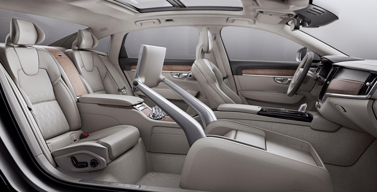 VOLVO2BS902BEXCELLENCE INTERIOR2B1 H Volvo αυξάνει την παραγωγή της και αλλάζει στρατηγική για τα εργοστάσιά της σε Ευρώπη, Κίνα, ΗΠΑ Volvo, Volvo Cars, Volvo S90, Volvo S90 Excellence, αγορά, Τεχνολογία