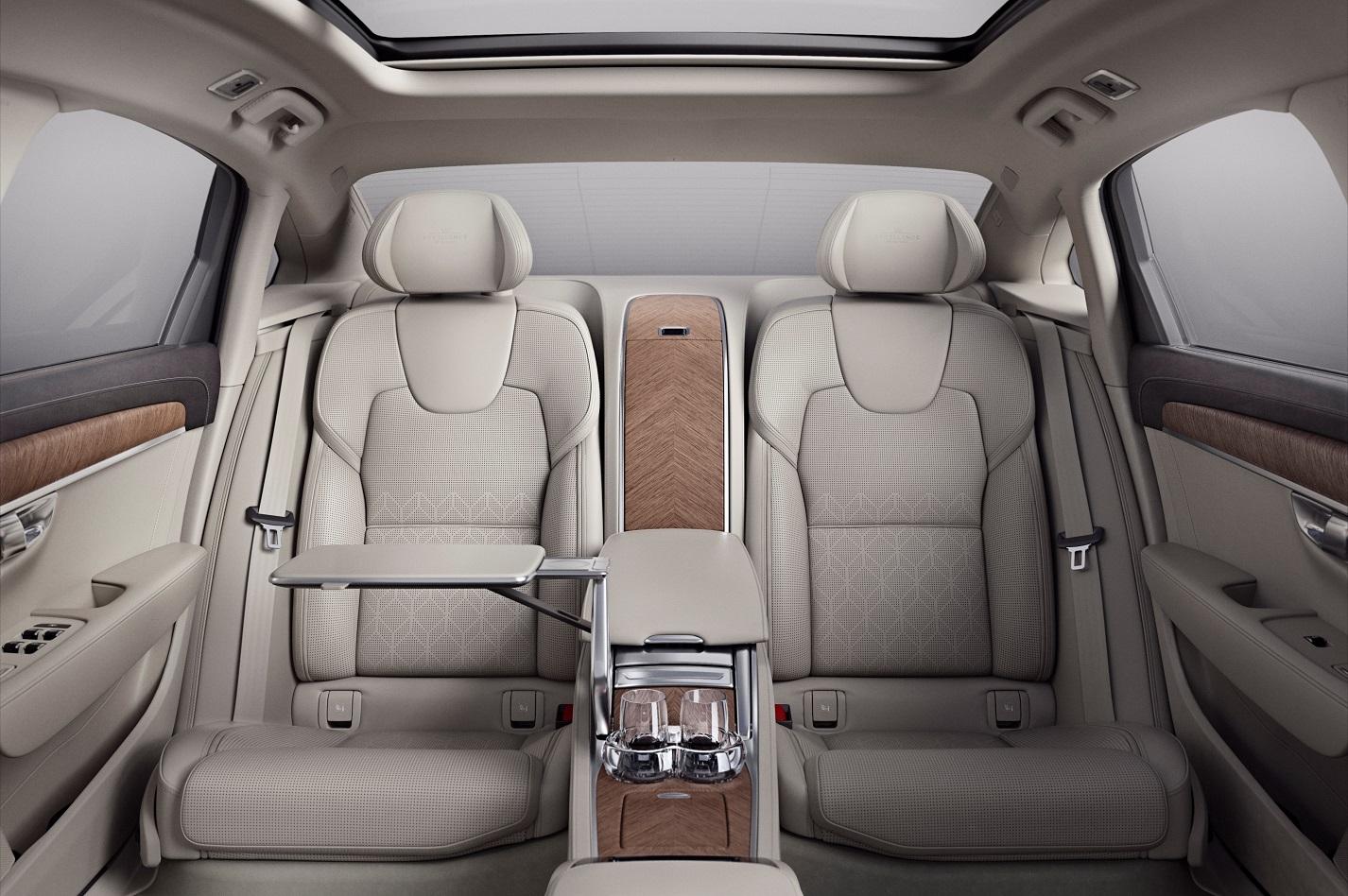 VOLVO2BS902BEXCELLENCE INTERIOR2B2 H Volvo αυξάνει την παραγωγή της και αλλάζει στρατηγική για τα εργοστάσιά της σε Ευρώπη, Κίνα, ΗΠΑ Volvo, Volvo Cars, Volvo S90, Volvo S90 Excellence, αγορά, Τεχνολογία