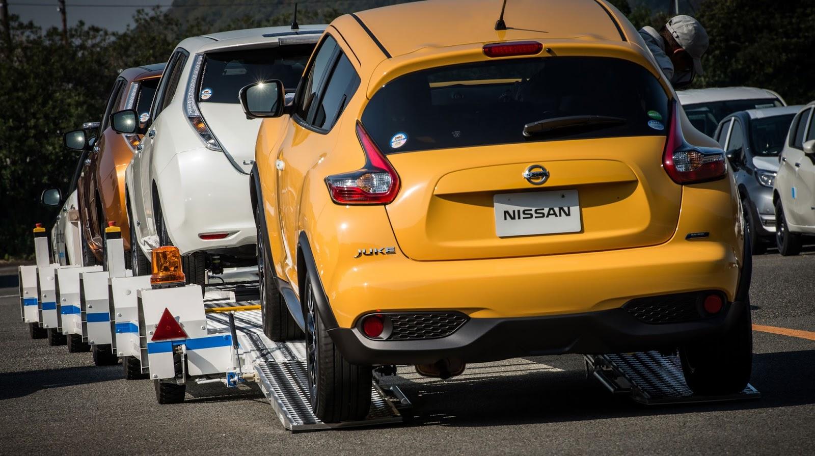 NISSAN Oppama Plant2 BINTEO: Δες το αυτόνομο όχημα ρυμούλκησης που έφτιαξε η Nissan
