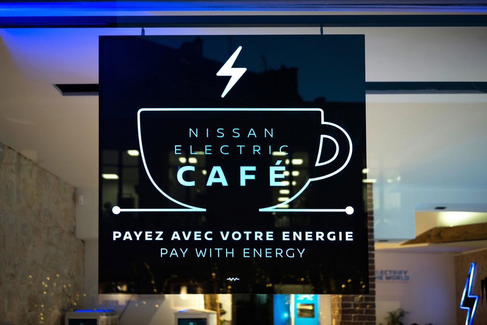 Nissan Cafe1 Πλήρωσε τον καφέ σου με ηλεκτρική ενέργεια!