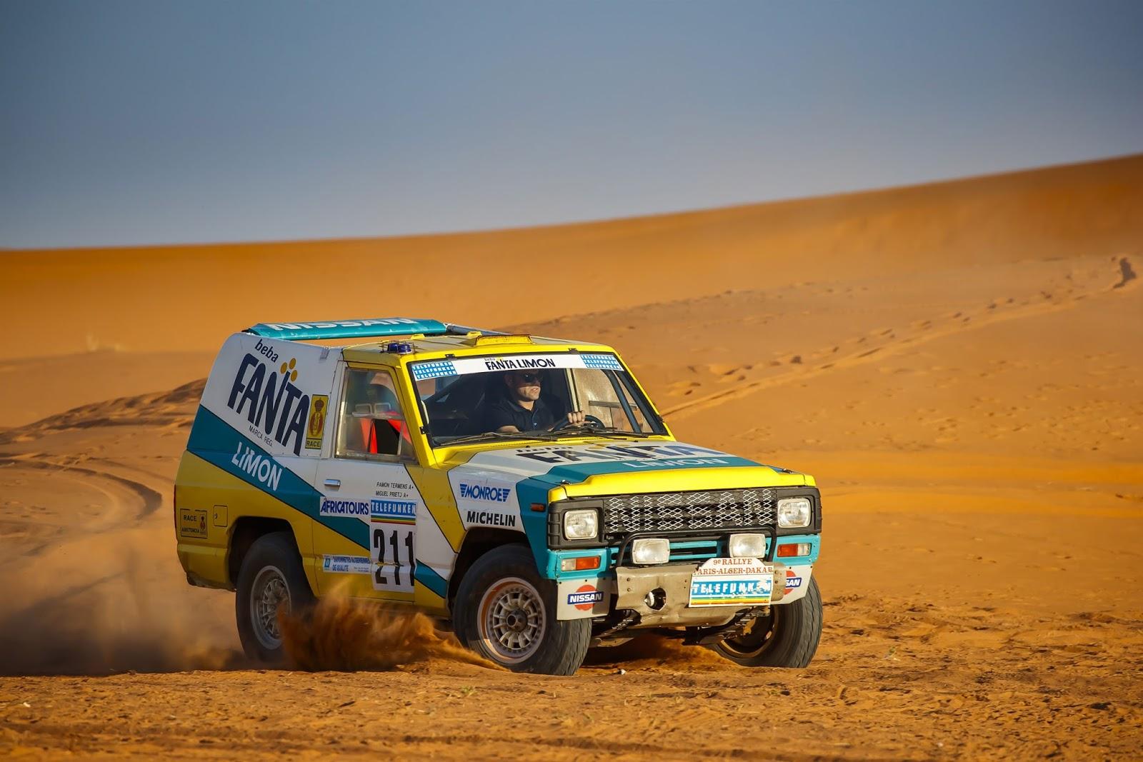 Patrol1 Η Nissan δίνει και πάλι ζωή στο θρυλικό Patrol του 1987, που έτρεξε στο rally Paris – Dakar Nissan, Nissan Patrol, Nissan Patrol Fanta Limon, Offroad, Rally Dakar, Rally Paris – Dakar, videos