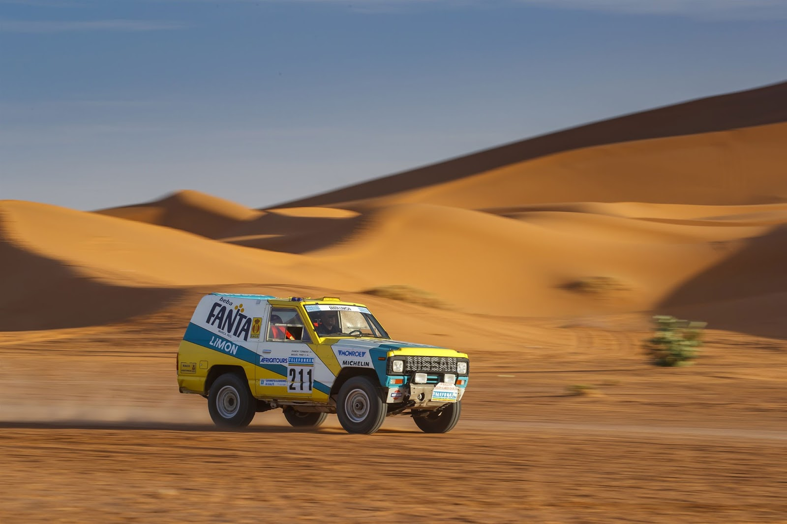 Patrol2 Η Nissan δίνει και πάλι ζωή στο θρυλικό Patrol του 1987, που έτρεξε στο rally Paris – Dakar Nissan, Nissan Patrol, Nissan Patrol Fanta Limon, Offroad, Rally Dakar, Rally Paris – Dakar, videos