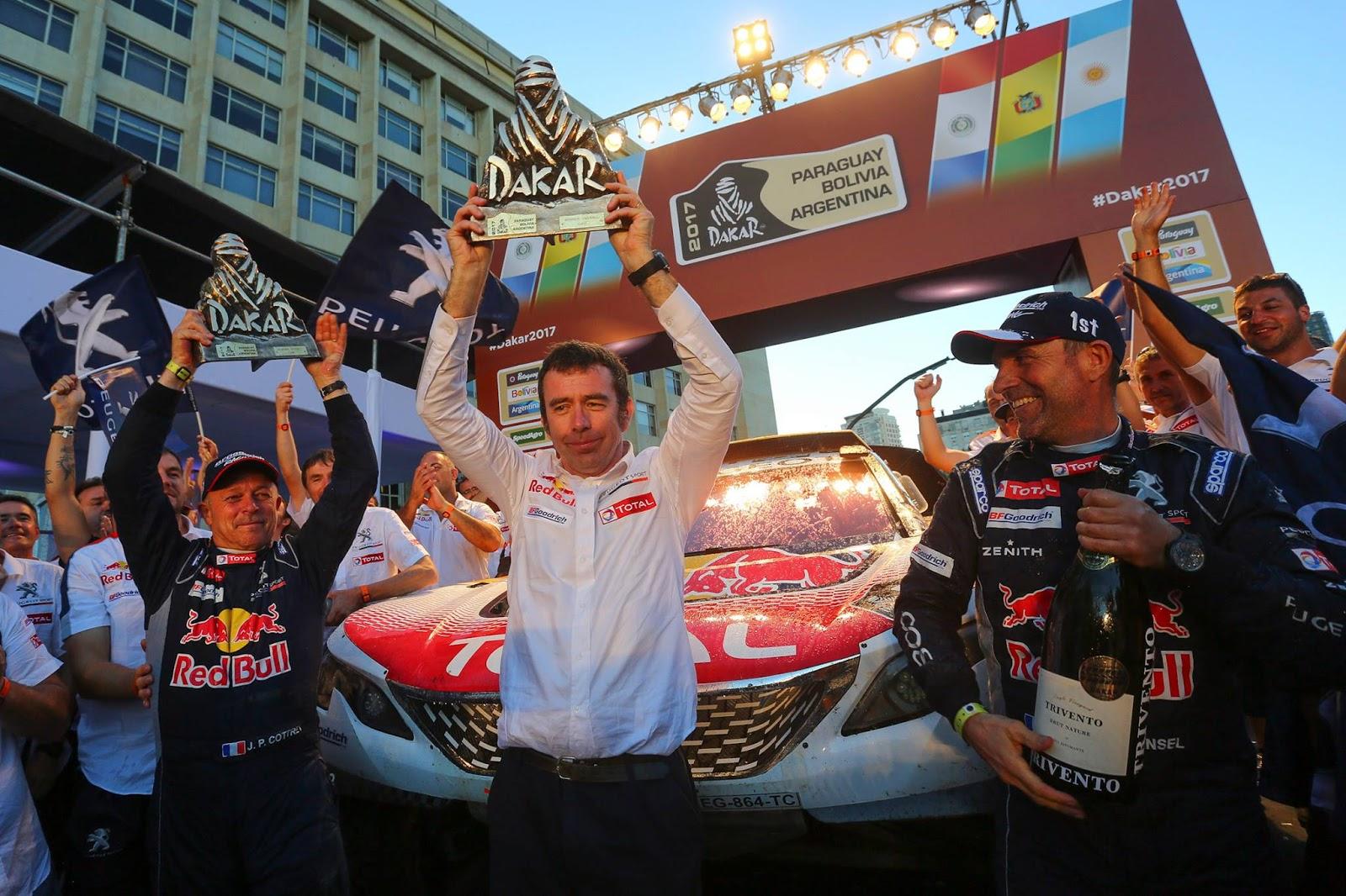 16112695 1342932679099369 7426555654807030203 o Τα πιο εντυπωσιακά πλάνα από το φετινό αγώνα Dakar και ο θρίαμβος της Peugeot Peugeot, PEUGEOT 3008, PEUGEOT 3008 DKR, Rally, Rally Dakar, videos