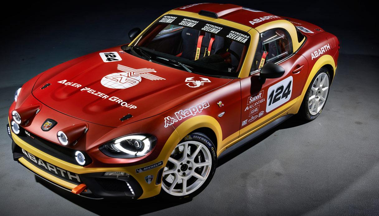 Abarth 124 Rally Monte Carlo Άκου το Abarth 124 Rally να ουρλιάζει στο Monte Carlo Abarth, Abarth 124 Spider, Fiat, fiat 124 spider, Rally, video, videos