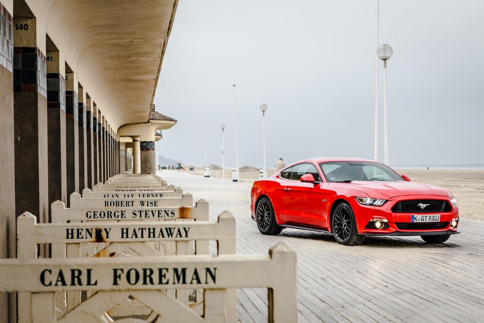 MustangDriveDeauville2015 03 Άνοδος Ευρωπαϊκών πωλήσεων για την Ford Ford, Sales, πωλήσεις, πωλήσεις αυτοκινήτων